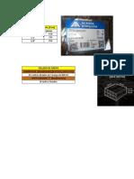 Listado de Materiles en Obras