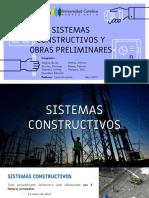 Sistemas Constructivos y Obras Preliminares