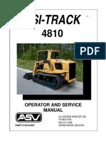 Manual de Operacion y Servicio (4810 ASV)