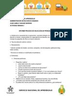 Informe Caso 2  Administracion Recursos Humanos