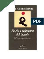 Marina Jose Antonio - Elogio Y Refutacion Del Ingenio