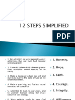 12 Steps Simplified