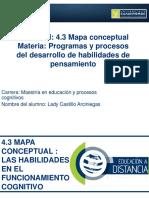 4.3 Mapa Conceptual. Lady Castillo