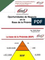 Oportunidades de Negocio BDP
