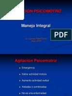 AGITACION PSICOMOTRIZ. Manejo Integral