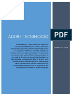 Adobe Tecnificado.