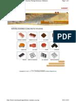 Interlocking concrete paves
