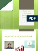 Taller de Identidad Personal y Profesional (1)