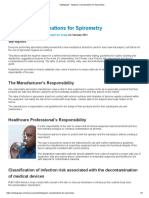 Vitalograph - Hygiene Considerations for Spirometry