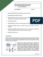 01 GFPI-F-019_Requerimientos Del Cliente UML -Analisis