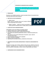 Plan de Saneamiento Basico Empresa Señalización Nuevo Milenio s.a.s