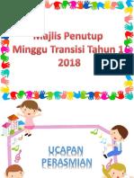 laporan bergambar transisi 2018