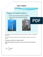 Wind Power Generation