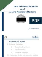 Importancia Banco Mexic Sistema Financiero