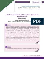 A Study on Computerized Three-Dimensiona