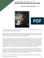 Rembrandt – Tempestade No Mar Da Galileia - Vírus Da Arte & CIA