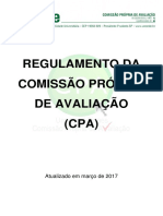 Regulamento Da CPA