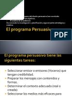 El programa persuasivo
