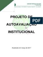 Projeto de Autoavaliacao Institucional