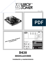 Regulador R438
