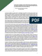 Aplicación de modelos de nichos ecológicos como instrumento para predecir