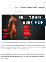 Lower Body Workouts (Exercise Routine For The Gym).pdf