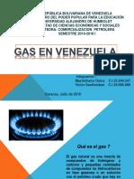 Expo Comercializacion GAS en Venezuela
