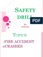 First Aid and Safety