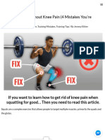 How to Avoid Knee Pain When Squatting_ 4 Squat Mistakes You'Re Making