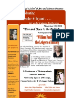 Constructing Identity Undergraduate Conference
