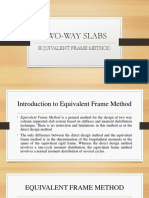 Equivalent Frame Method Sample