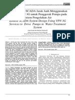 41165 ID Disain Sistem Scada Jarak Jauh Menggunakan Layanan VPN 3g Untuk Penggerak Pompa