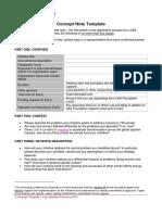 CA Foundation Concept Template