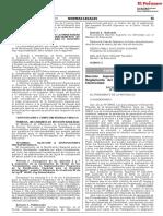 Decreto Supremo Que Modifica El Reglamento Del Mercado Mayor Decreto Supremo n 005 2018 Em 1628015 4