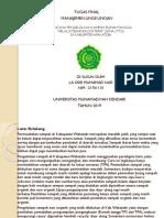 Tugas Final Manajemen Lingkungan Presentation1