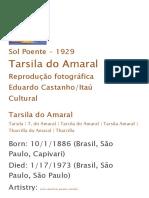 Tarsila Do Amaral - Enciclopédia Itaú Cultural