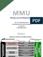 MANEJO Y USO DE MEDICAMENTOS