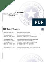 2020 District Budget Slides BOM Version 07-24-2019 Mnv7