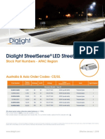 Dialight StreetSense StreetLight Stock APAC Flyer UL-CE-RCM