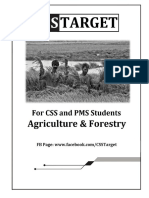 Agriculture and Forestry Notes