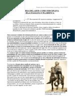 LA HISTORIA DEL ARTE COMO DISCIPLINA. ESTETICAS ITALIANA Y FLAMENCA