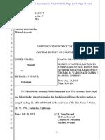 Avenattti Discovery Motion CA Indictment 7-28-2019