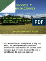 Conclusiones_y_Recomendaciones_II_Taller_Tara