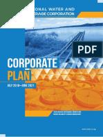 Corporate Plan 2018 2021