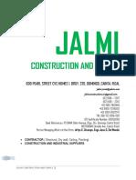 Latest Company Profile of Jalmi Const
