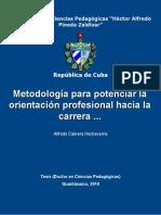 Metodologías orientación