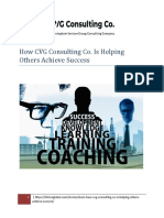 How CVG Consulting Co. is Helping Others Achieve Success