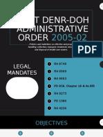Joint denr-doh administrative order 2005-02.pptx