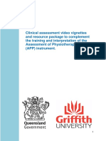 Clinical Assessment Resource Package