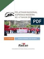 Proposal Pelatnas Armadillo Yogyakarta 2019